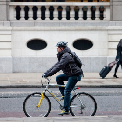 'London by Bike' campaign by Nick Turpin