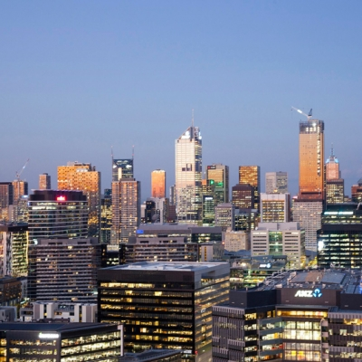 Tom Hutton captures the Melbourne skyline