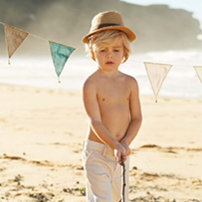 Hayley Sparks' summer kids editorial for Studio Bambini