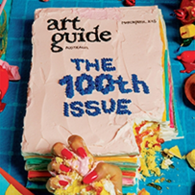 Jesse Marlow for Art Guide's 100th Issue