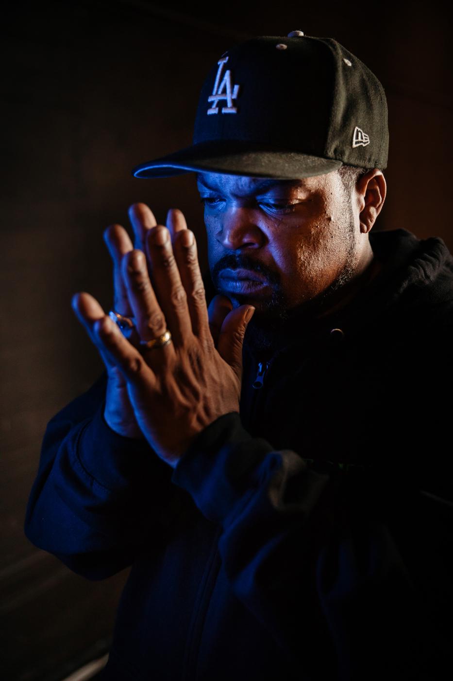 Ice Cube Portraits