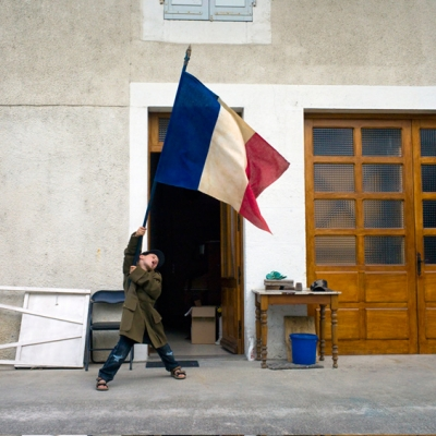 'The French', a personal series by Nick Turpin