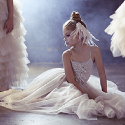 Hayley Sparks shoots Tutu Du Monde's 'Bespoke' campaign