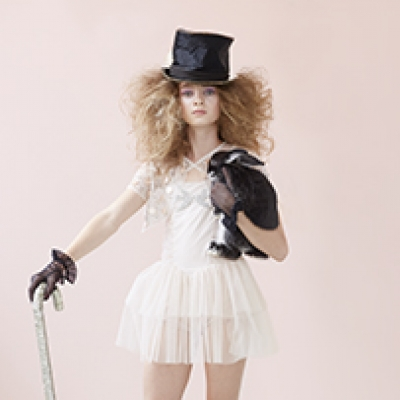 Hayley Sparks' 'Down the Rabbit Hole' campaign for Tutu du Monde
