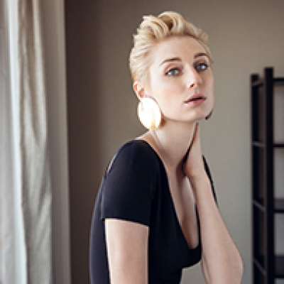 Daniel Boud captures the essence of Elizabeth Debicki for Rhapsody magazine