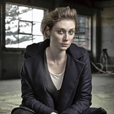 Ben King captures Elizabeth Debicki on the set of The Kettering Incident