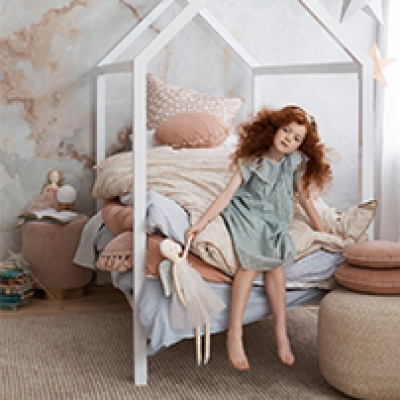 Hayley Sparks captures fairy tale bedroom's for Real Living Magazine