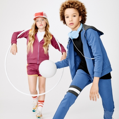 Hayley Sparks & stylist Emma Wood for Junior Blvd